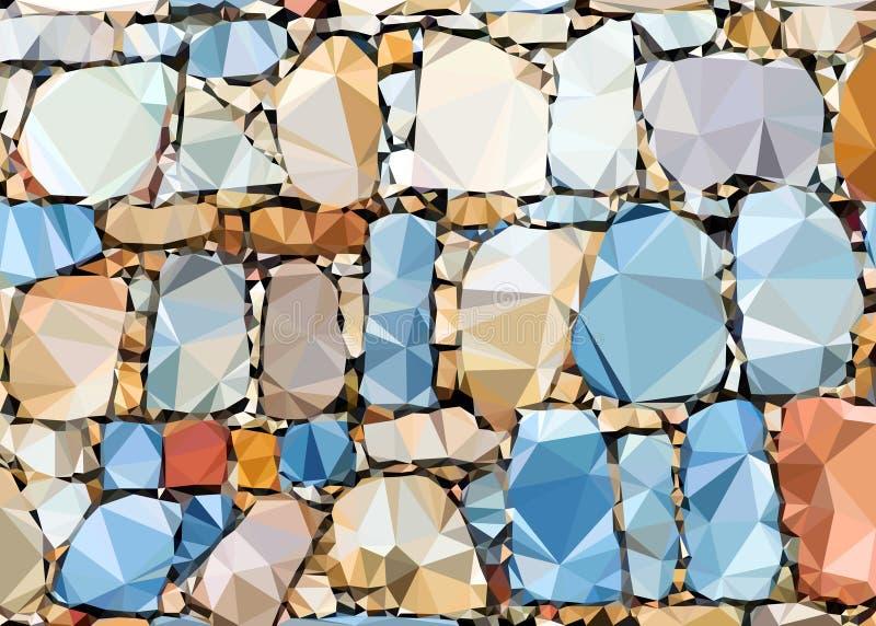 Piedras del fondo imagen de archivo libre de regalías