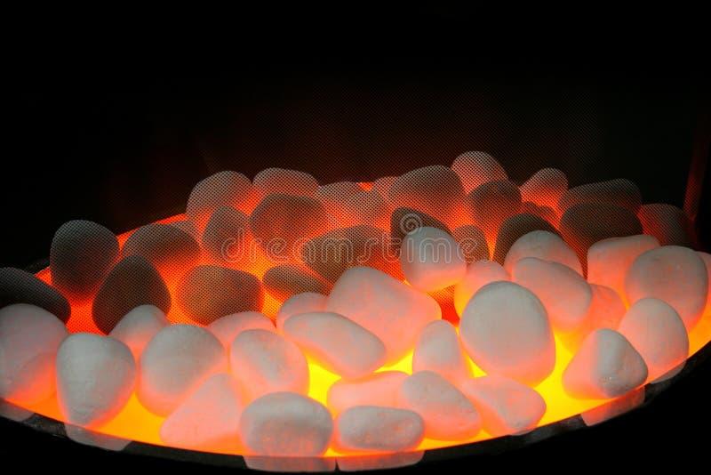 Piedras del fuego imagen de archivo