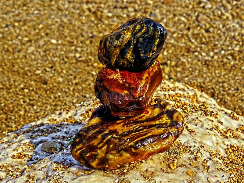Piedras del mar muerto foto de archivo libre de regalías