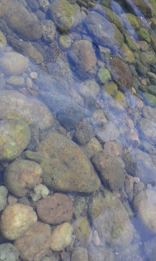 Piedras del río imagen de archivo