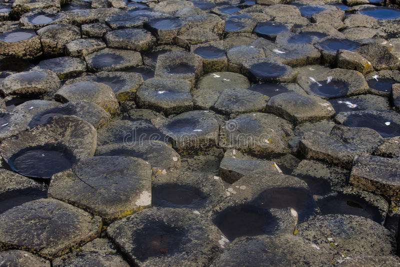 Piedras del terraplén de Giants fotografía de archivo libre de regalías