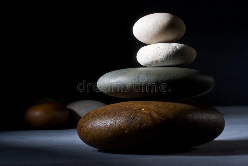 Piedras del zen fotos de archivo libres de regalías