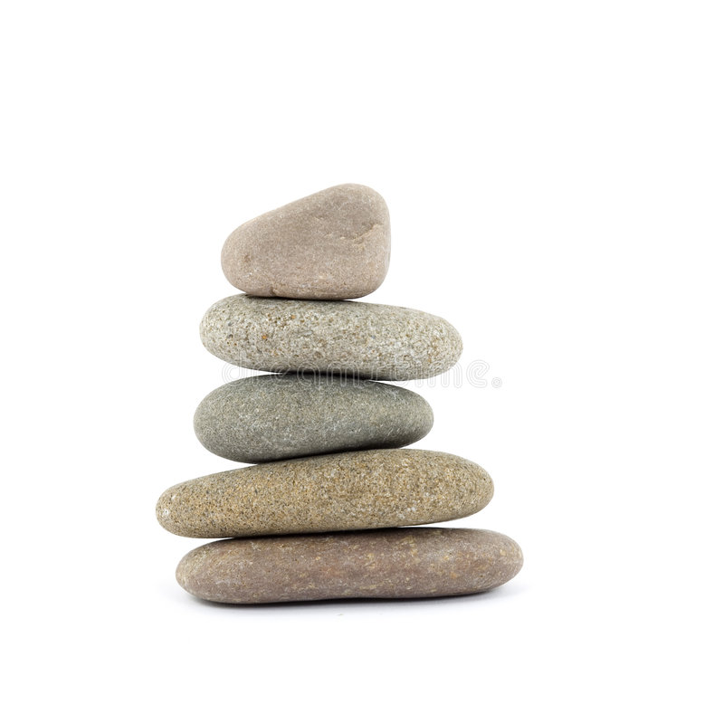 Piedras del zen/del balneario imagenes de archivo