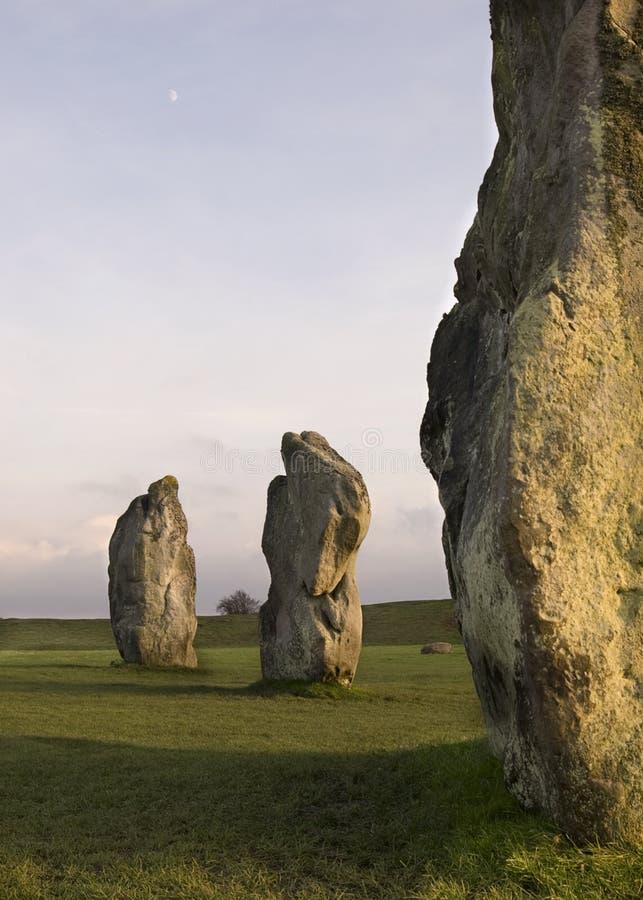 Piedras derechas imágenes de archivo libres de regalías