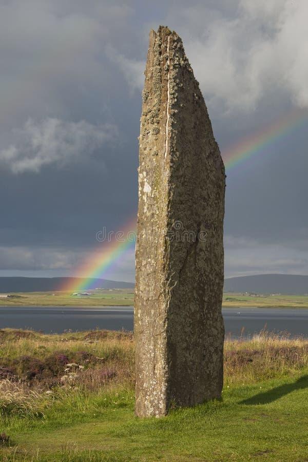Piedras derechas de Stennes fotos de archivo