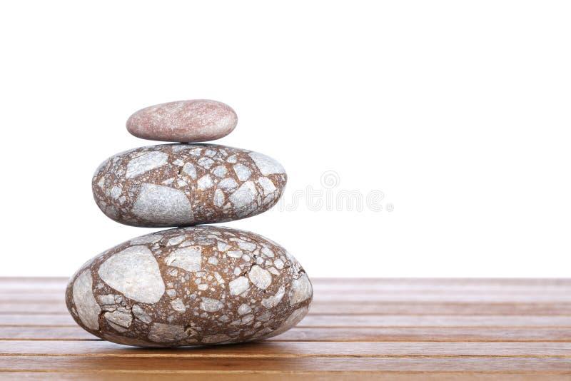 Piedras empiladas fotos de archivo