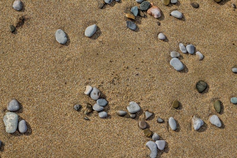 Piedras en la arena fotografía de archivo