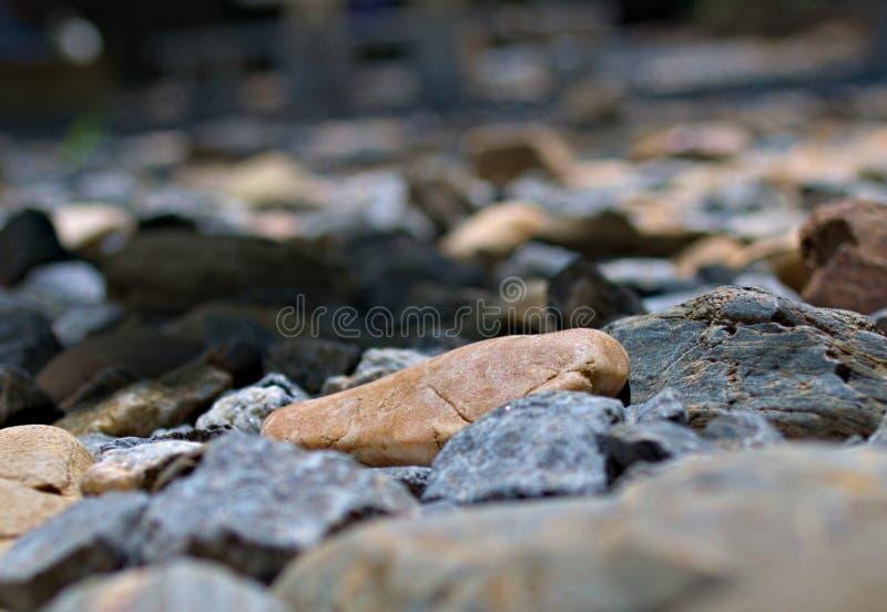 Piedras en la tierra fotografía de archivo libre de regalías