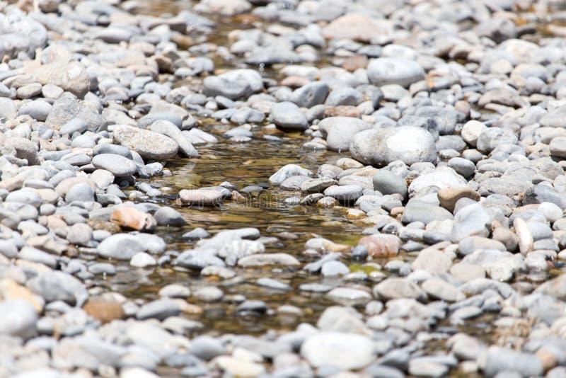 Piedras en naturaleza del agua fotografía de archivo libre de regalías