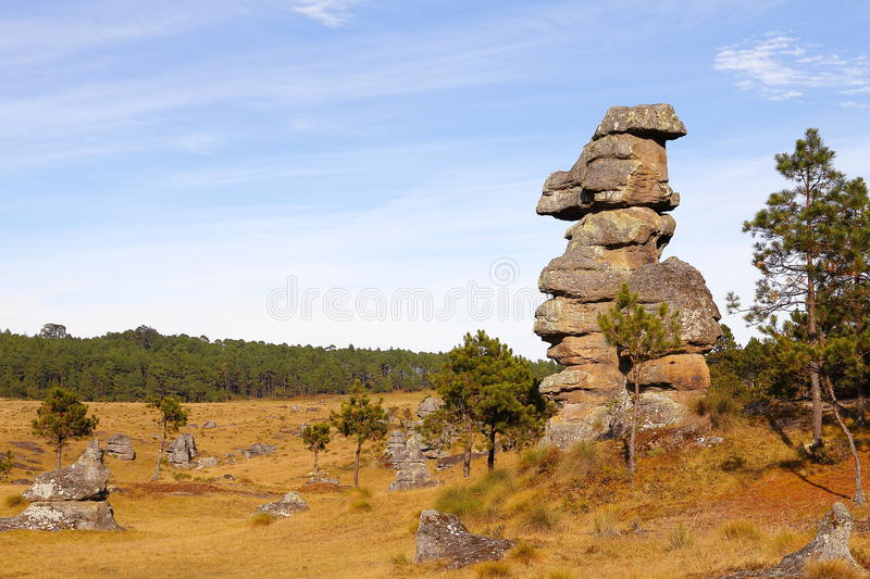 Piedras encimadas valley XXI royalty free stock photo