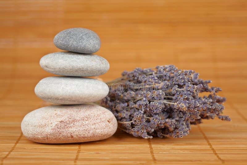 Piedras equilibradas imagen de archivo