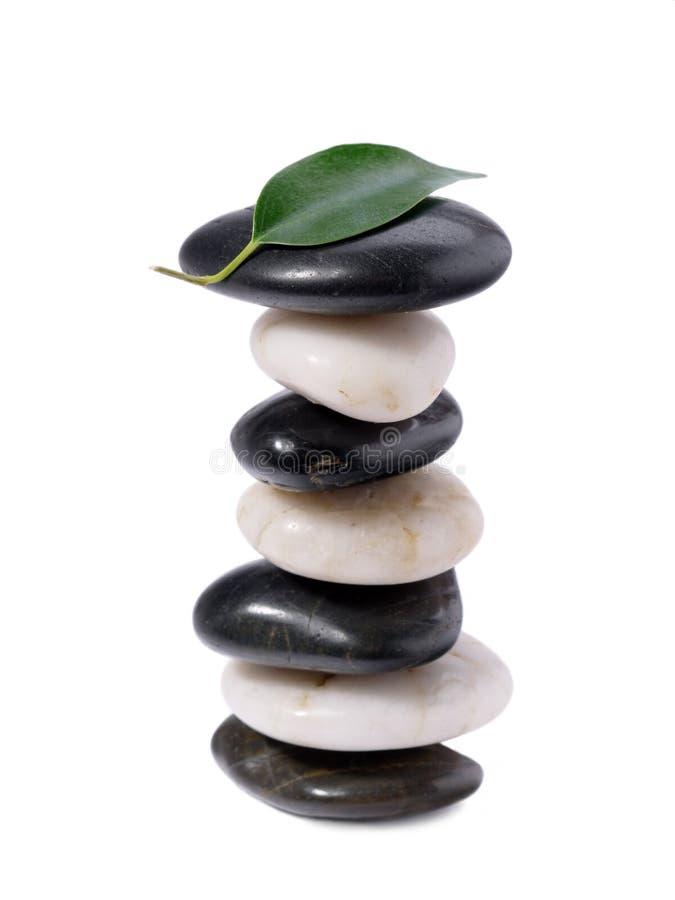 Piedras equilibradas fotos de archivo libres de regalías