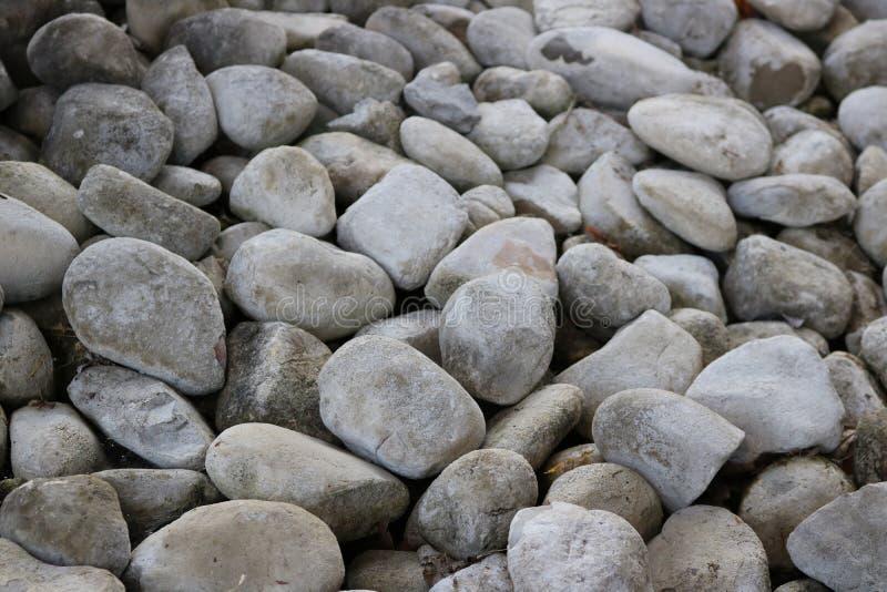 Piedras grises imagen de archivo libre de regalías