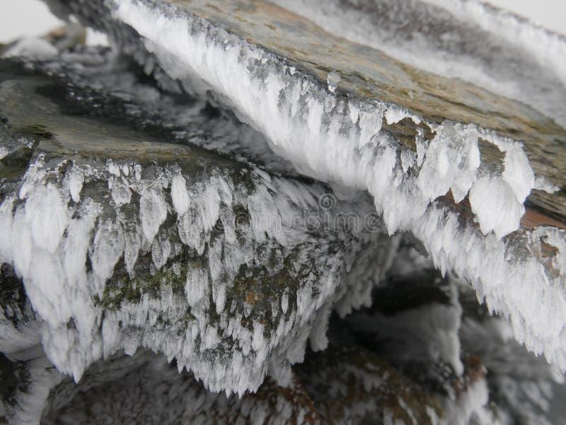 Piedras heladas imagenes de archivo