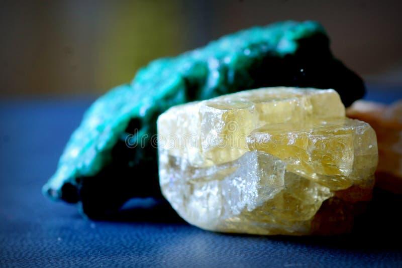 Piedras minerales fotografía de archivo libre de regalías