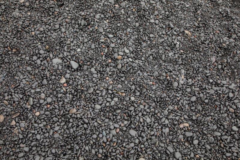 Piedras negras fotos de archivo
