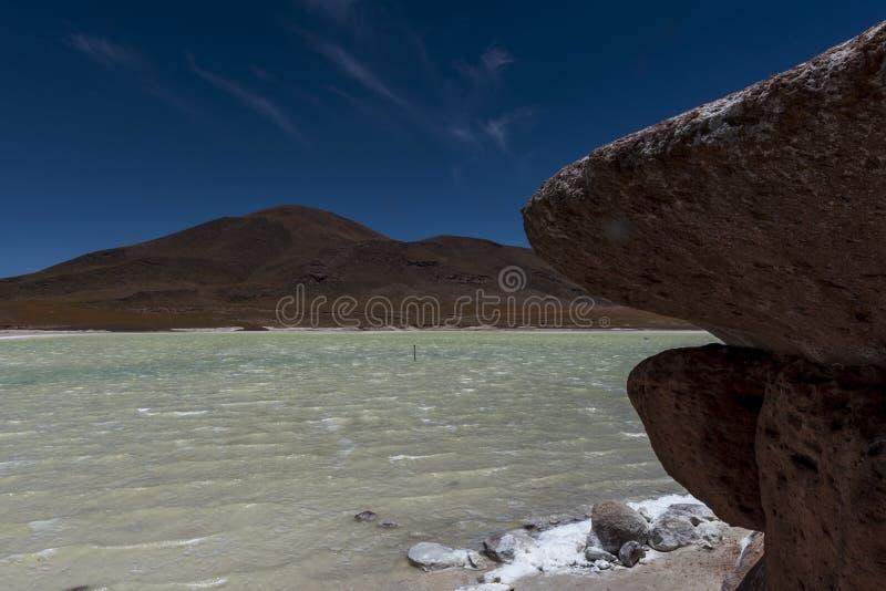 Piedras Rojas, Atacama, Paprika stockbild