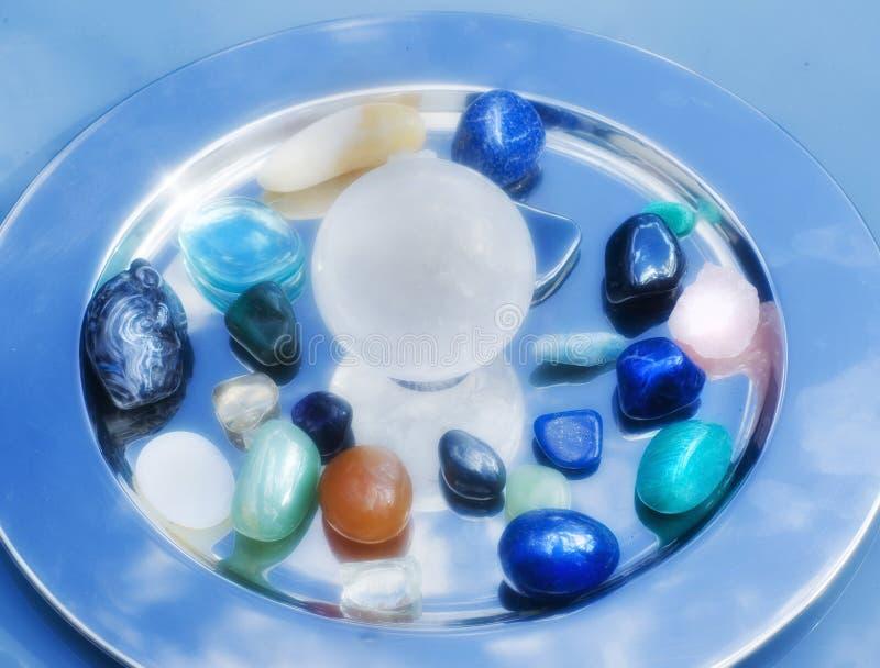 Piedras semipreciosas imagen de archivo libre de regalías