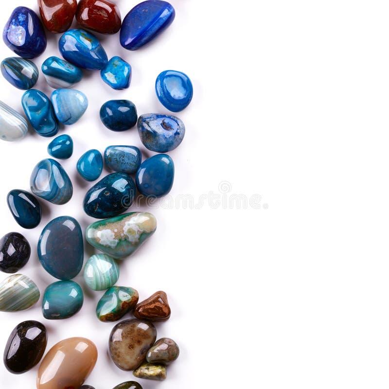 Piedras semipreciosas fotos de archivo