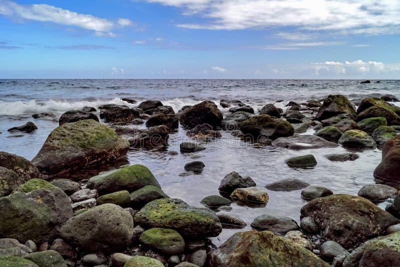 Piedras verdes fotografía de archivo libre de regalías