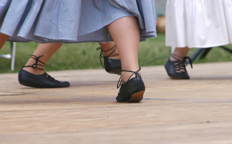 Pieds 4926 de danse photo stock
