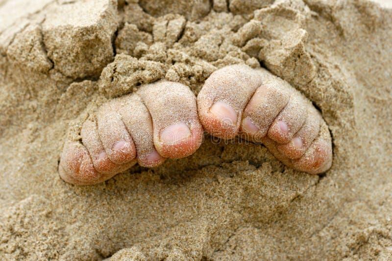 pieds image libre de droits