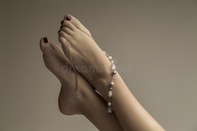 pieds photo stock