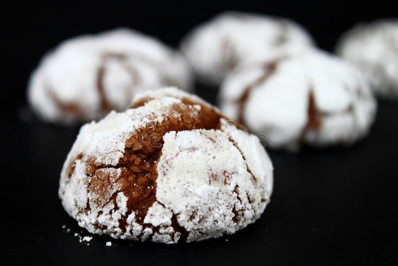 Pieghe del cioccolato fotografie stock libere da diritti