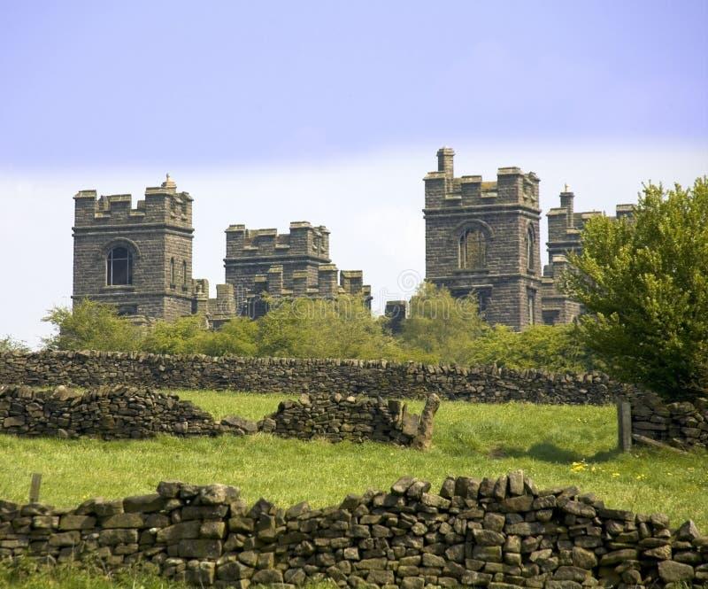 Piek het districts nationaal park Matlock riber Cas van Engeland Derbyshire royalty-vrije stock afbeeldingen