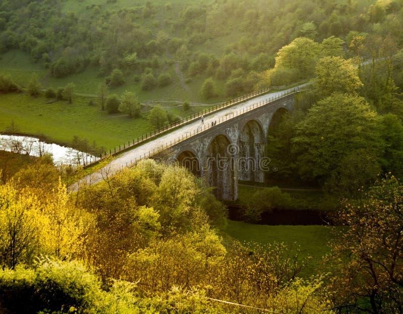 Piek het districts nationaal park van Engeland Derbyshire royalty-vrije stock afbeeldingen