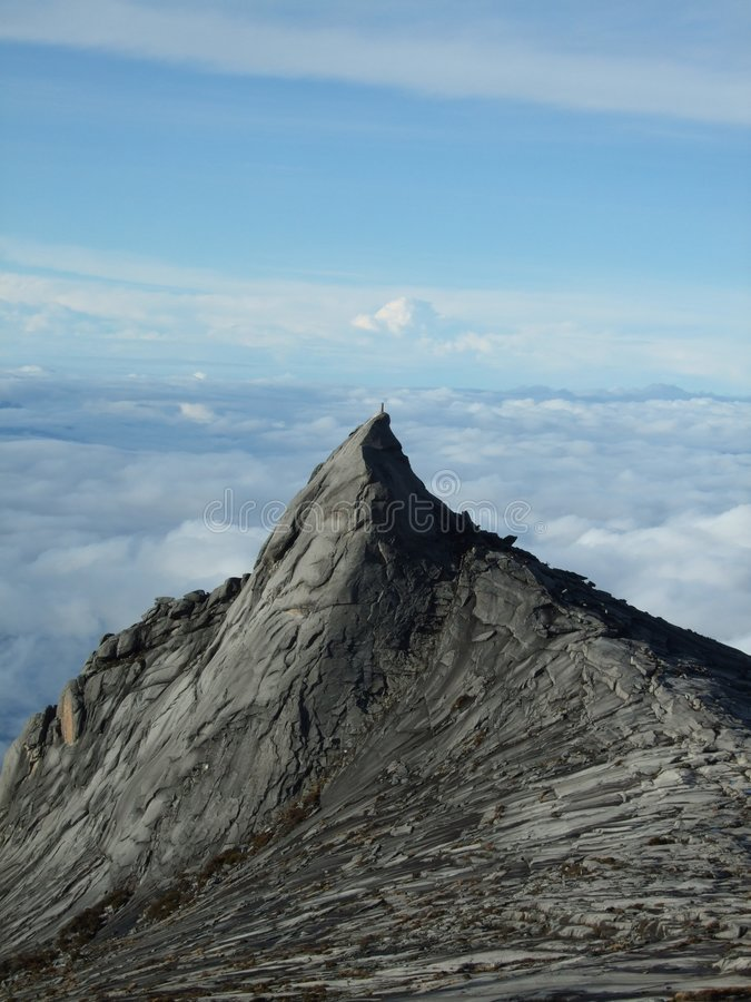 Piek op Borneo royalty-vrije stock foto's