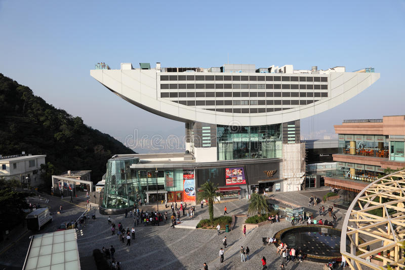 Piek Toren, Hongkong stock foto's