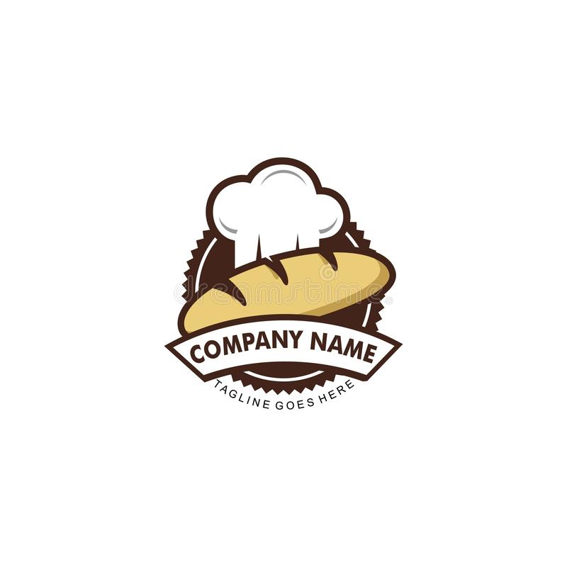 Piekarnia logo ilustracji