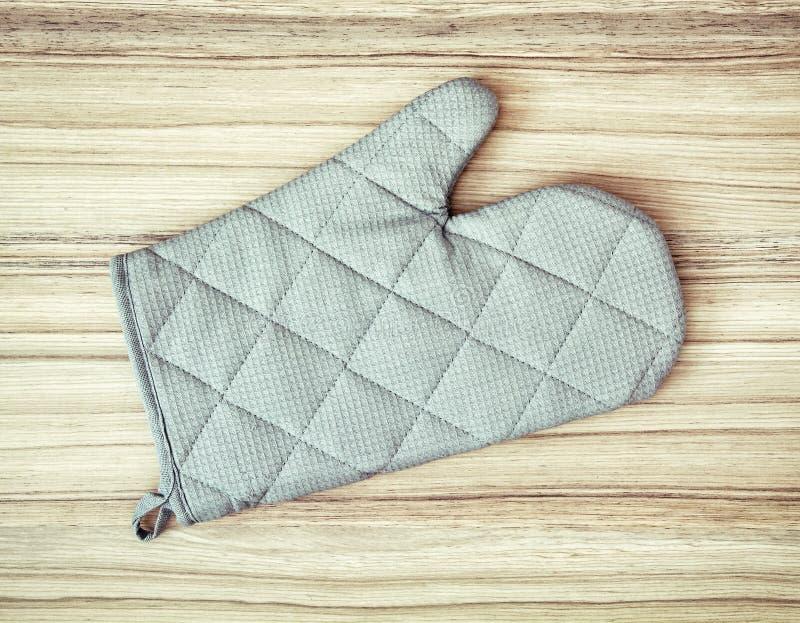 Piekarnik mitenka lub potholder (rękawiczka) zdjęcie royalty free