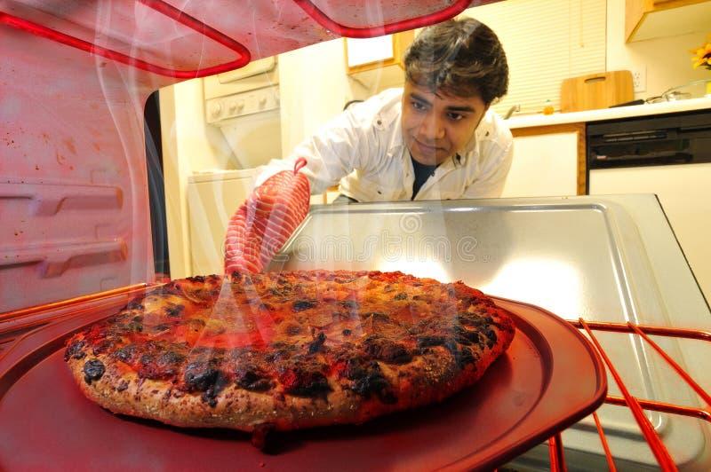 piekarnik pizza zdjęcia royalty free
