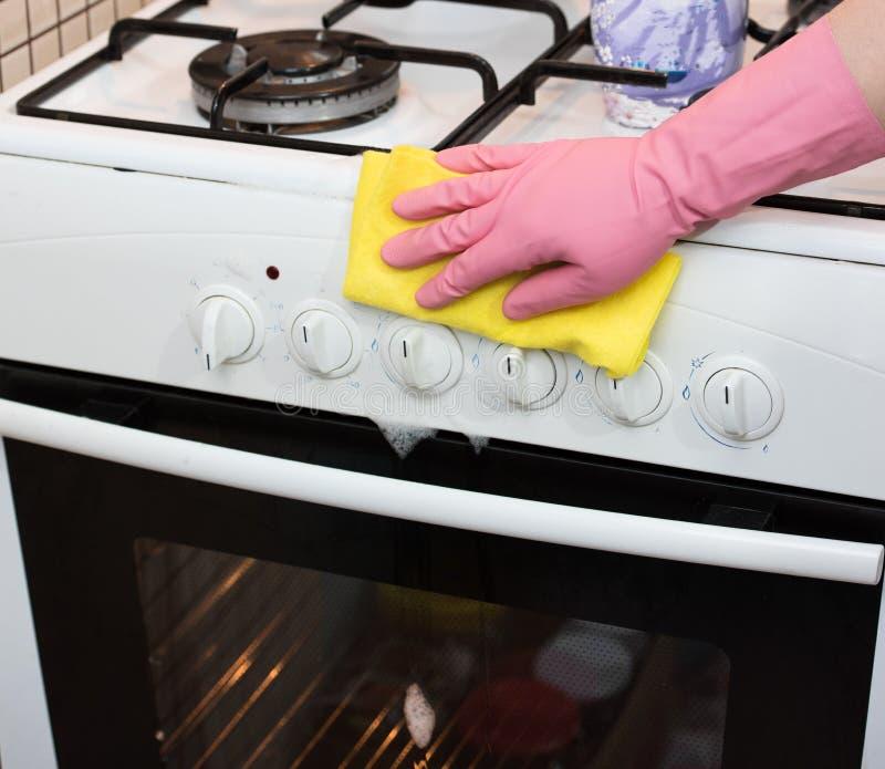 Piekarnika cleaning obrazy stock