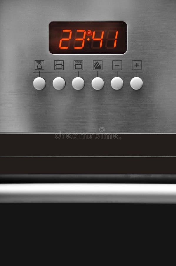 piekarnika kontrolny panel obraz stock