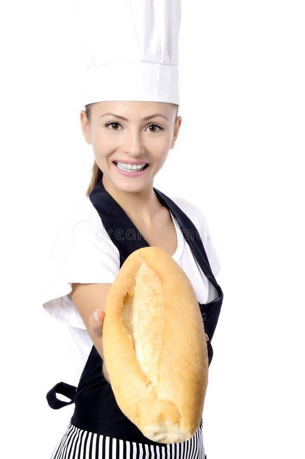 Piekarz lub szef kuchni zdjęcia royalty free