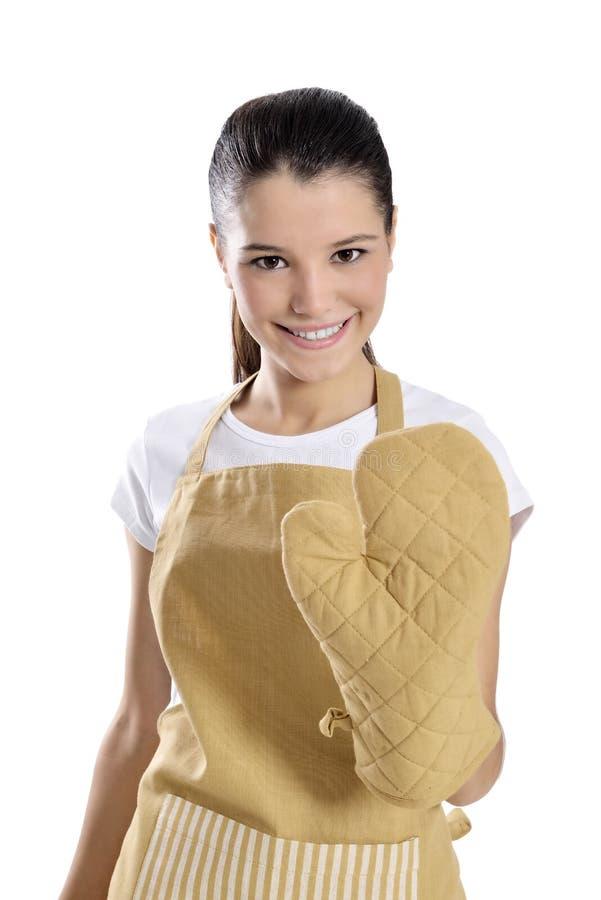 Piekarza, szefa kuchni kobieta/ fotografia royalty free