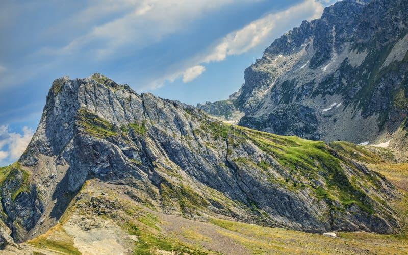 Pieken in de Bergen van de Pyreneeën stock foto