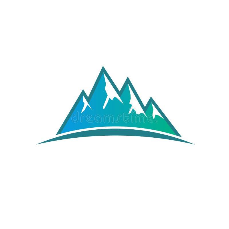 Pieken en Bergen Logo Illustration vector illustratie