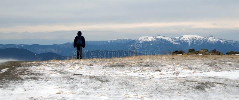 Pieken van de Bergen van de Kaukasus royalty-vrije stock fotografie