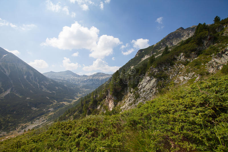 Piekvihren, Pirin-berg, Bansko, Bulgarije, Oost-Europa stock foto