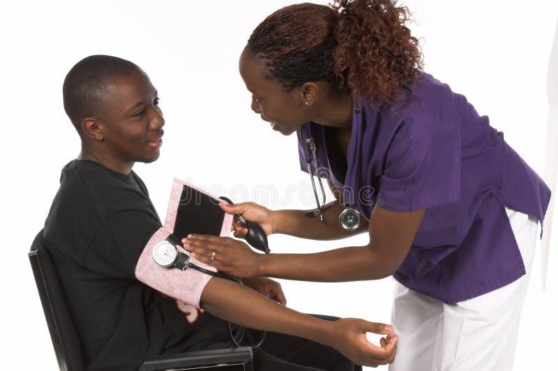 pielęgniarka pacjent fotografia royalty free