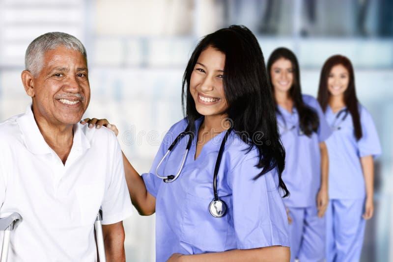 Pielęgniarka w szpitalu obraz stock