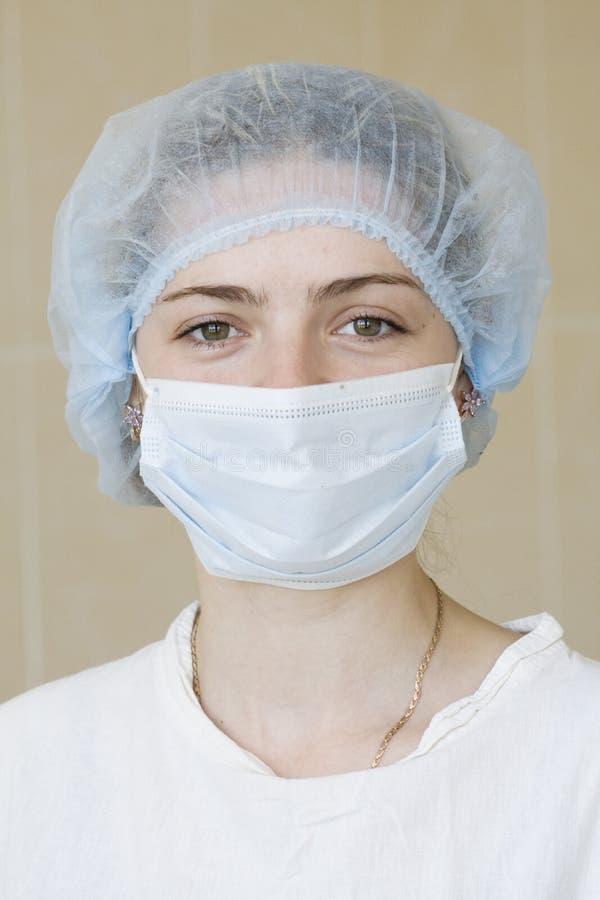 pielęgniarki szpiega portret zdjęcie royalty free