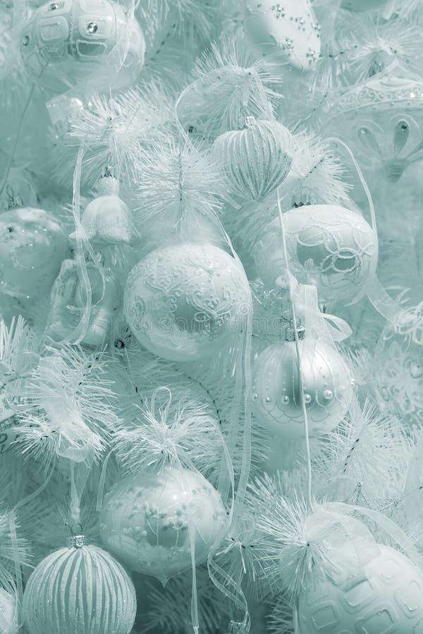 Piel-árbol elegante de la Navidad imagen de archivo libre de regalías