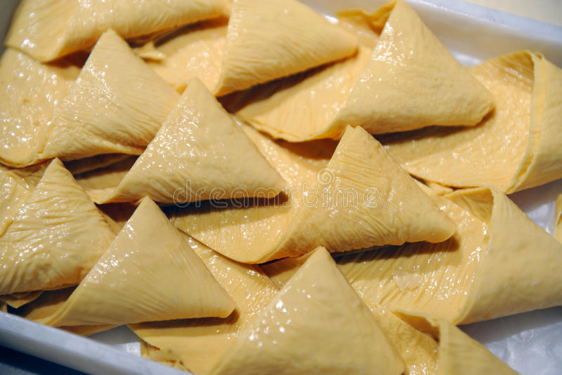 Piel china del queso de soja de la cocina imagen de archivo