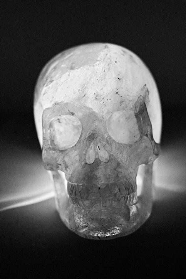 Piel de cristal del Quartz lechoso foto de archivo libre de regalías