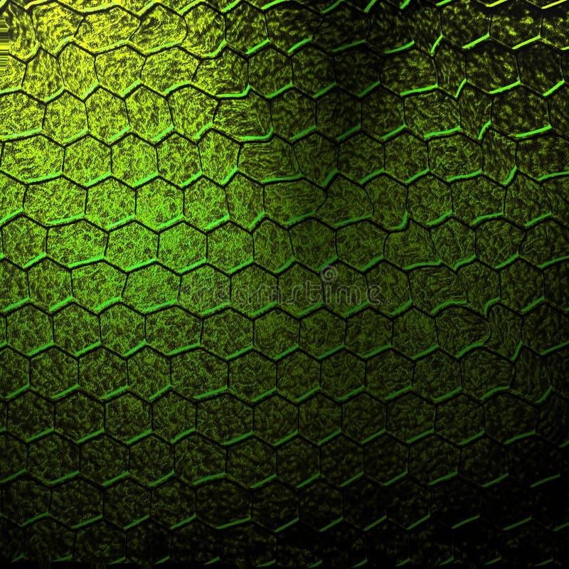 Piel del lagarto ilustración del vector